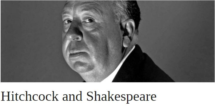 Hitchcock and Shakespeare